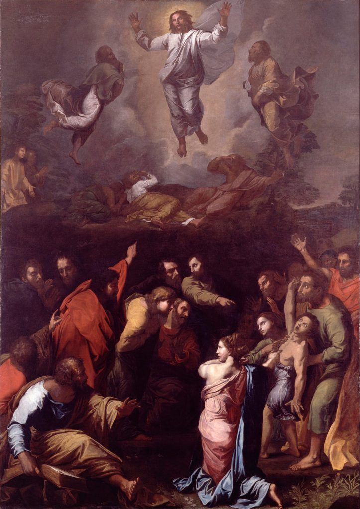 The Transfiguration, 1516-1520 Raphael (Raffaello Sanzio), Tempera on wood  Vatican Museums, www.museivaticani.va