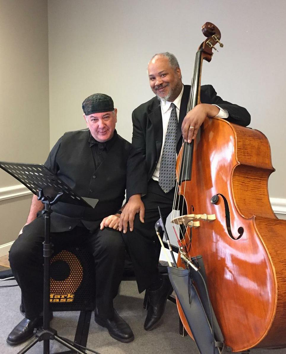 James Levy, left, and musical partner David Marsh
