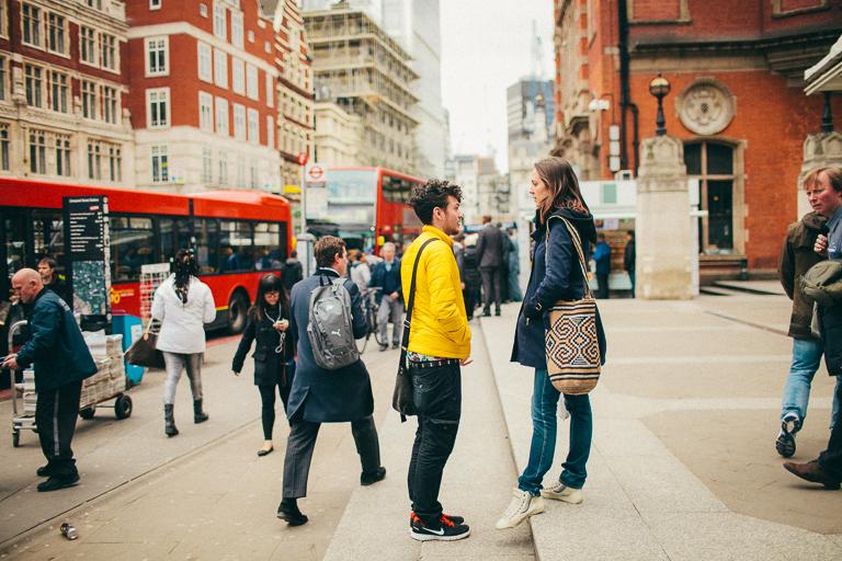 London streetscape by Jill Devries